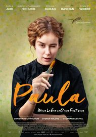 "Movie poster for ""PAULA"""