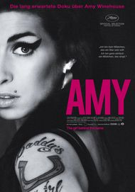 "Movie poster for ""AMY"""