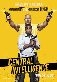 "Filmplakat für ""CENTRAL INTELLIGENCE"""