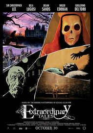 "Movie poster for ""EXTRAORDINARY TALES"""
