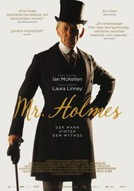 "Movie poster for ""MR. HOLMES"""
