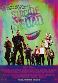 """Filmplakat für """"SUICIDE SQUAD"""""""