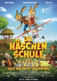 """Filmplakat für """"DIE HASCHENSCHULE: JAGD NACH DEM GOLDENEN EI"""""""