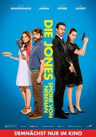 """Filmplakat für """"Die Jones - Spione von nebenan"""""""
