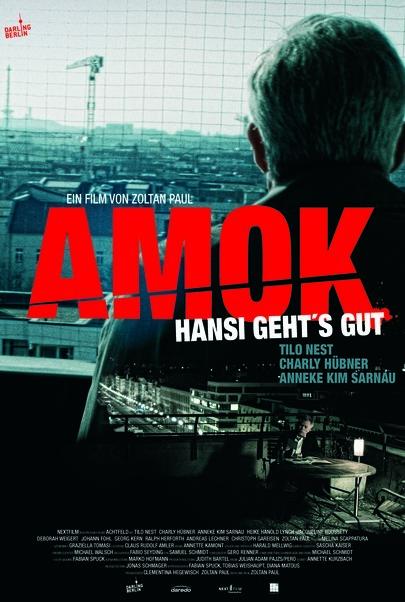 """Filmplakat für """"Amok - Hansi geht's gut"""""""