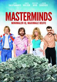 """Filmplakat für """"Masterminds"""""""