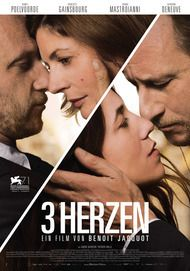 "Movie poster for ""3 coeurs"""