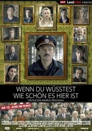 """Movie poster for """"Wenn du wüsstest, wie schön es hier ist - AUSTRIA"""""""