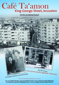 "Filmplakat für ""Café Ta'amon - King George Street, Jerusalem"""