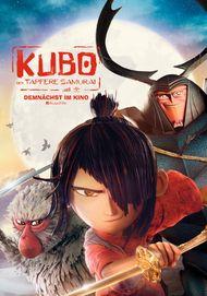 """Filmplakat für """"Kubo - Der tapfere Samurai (3D)"""""""