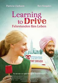 "Movie poster for ""LEARNING TO DRIVE"""