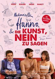 """Filmplakat für """"Mademoiselle Hanna und die Kunst Nein zu sagen"""""""