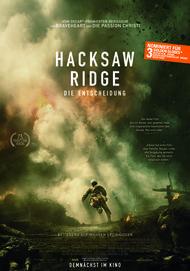 """Filmplakat für """"Hacksaw Ridge - Die Entscheidung"""""""