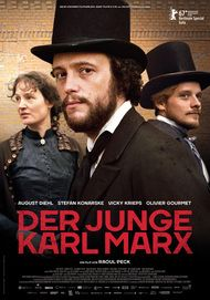 """Movie poster for """"YOUNG KARL MARX"""""""