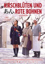 """Filmplakat für """"Kirschblüten und rote Bohnen"""""""