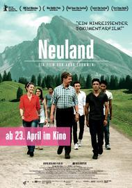 "Movie poster for ""Neuland"""