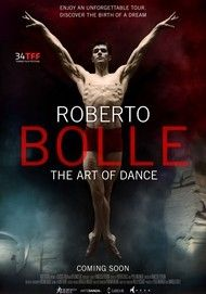 "Movie poster for ""ROBERTO BOLLE: THE ART OF DANCE"""