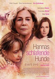 """Movie poster for """"Hannas schlafende Hunde"""""""