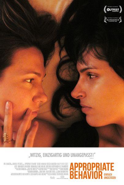 """Filmplakat für """"Appropriate Behavior, einfach ungezogen"""""""