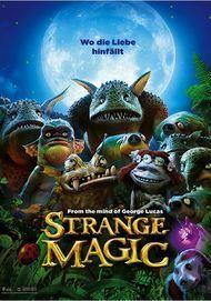 """Movie poster for """"STRANGE MAGIC"""""""