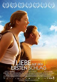 "Movie poster for ""LES COMBATTANTS"""