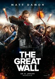 "Filmplakat für ""THE GREAT WALL"""