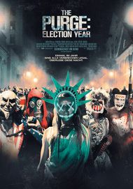 "Filmplakat für ""The Purge: Election Year"""