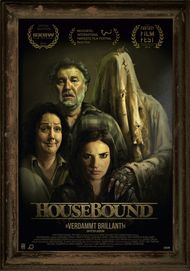 "Movie poster for ""Housebound"""