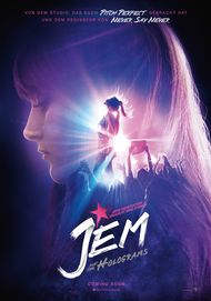 "Filmplakat für ""JEM AND THE HOLOGRAMS"""