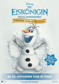 """Movie poster for """"FROZEN"""""""
