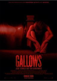 "Filmplakat für ""The Gallows"""