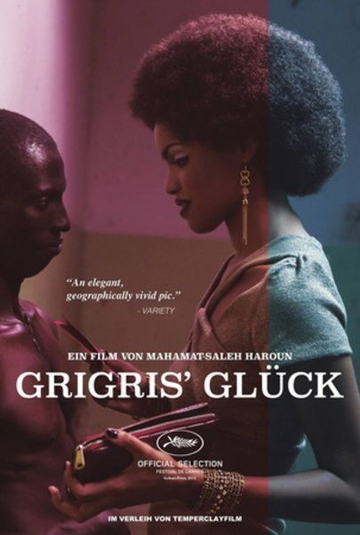 "Movie poster for ""GRIGRIS"""
