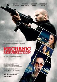 "Filmplakat für ""MECHANIC: RESURRECTION"""