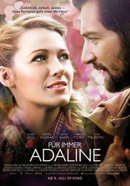 "Movie poster for ""THE AGE OF ADALINE"""