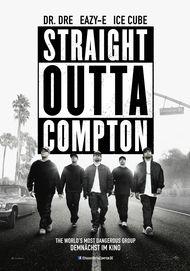 """Filmplakat für """"STRAIGHT OUTTA COMPTON"""""""