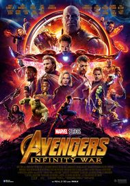 "Movie poster for ""AVENGERS: INFINITY WAR"""