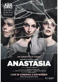 "Movie poster for ""ANASTASIA - ROYAL OPERA HOUSE"""