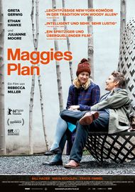 "Movie poster for ""MAGGIE'S PLAN"""
