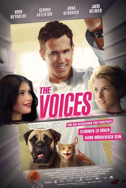 """Filmplakat für """"THE VOICES"""""""