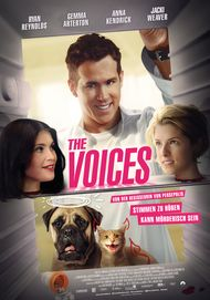 "Filmplakat für ""THE VOICES"""