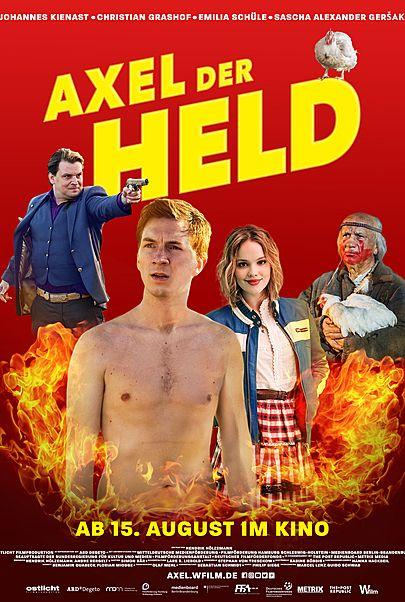 """Filmplakat für """"AXEL DER HELD"""""""