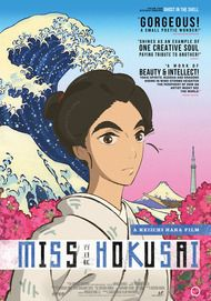 "Movie poster for ""MISS HOKUSAI"""