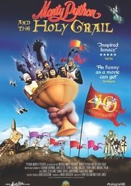 "Movie poster for ""MONTY PYTHON AND THE HOLY GRAIL / SING-A-LONG VERSION (2K REMASTERED)"""