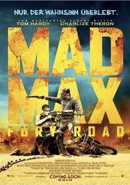"Filmplakat für ""MAD MAX: FURY ROAD"""