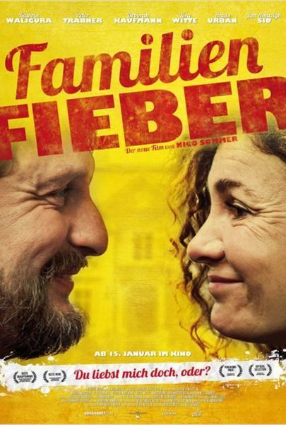 "Movie poster for ""Familienfieber"""