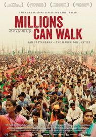 """Filmplakat für """"Millions Can Walk"""""""