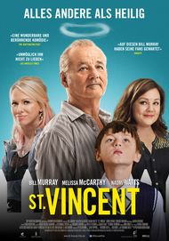 "Movie poster for ""St Vincent"""