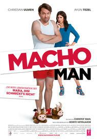 """Movie poster for """"Macho Man"""""""