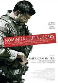 """Movie poster for """"AMERICAN SNIPER"""""""
