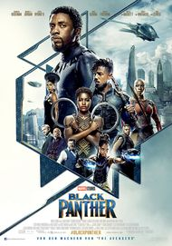 "Movie poster for ""BLACK PANTHER"""